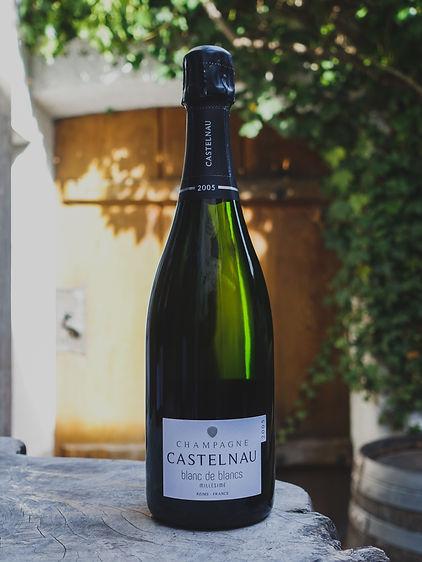 Blanc de Blanc , Castelnau, Champagne