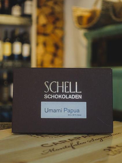 Umami Papua Vollmilchschokolade, Confiserie Schell