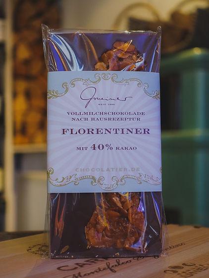 Florentiner Vollmilchschokolade, Confiserie Gmeiner