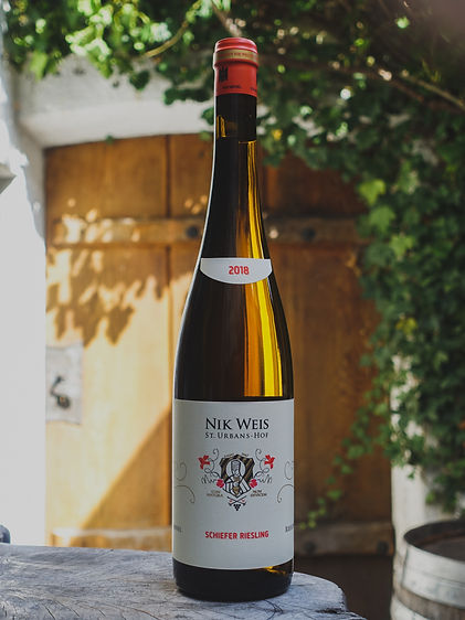 Schiefer Riesling , Weingut Nik Weis, Mosel