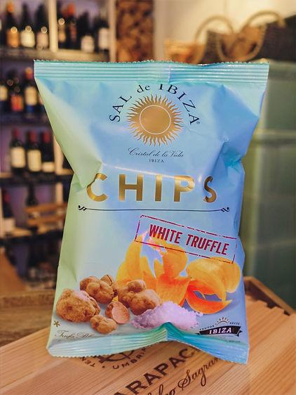 Weisser Trüffel Chips, Sal de Ibiza