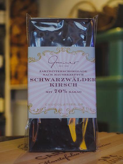 Schwarzwälder-Kirsch Schokolade, Confiserie Gmeiner