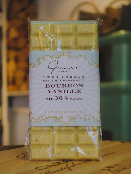 Bourbon Vanille Schokolade, Confiserie Gmeiner
