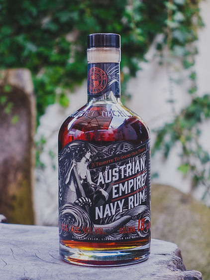 Solera 18yo blended Austrian Empire Navy Rum