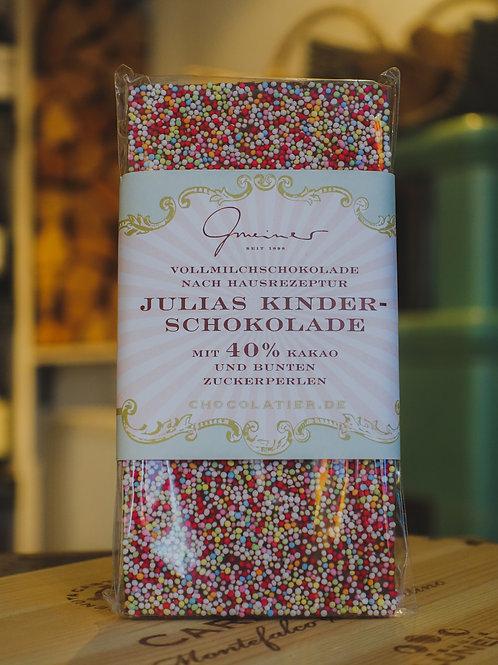 Julias Kinderschokolade, Confiserie Gmeiner