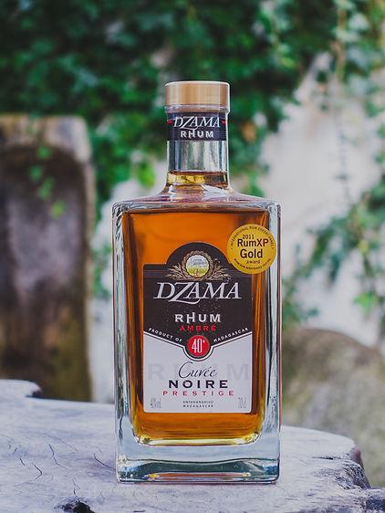 Dzama Rhum Ambré Cuveée Noire Prestige Rum