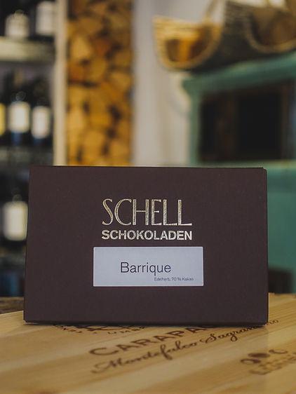 Barrique Edelherb 70% Schokolade, Confiserie Schell