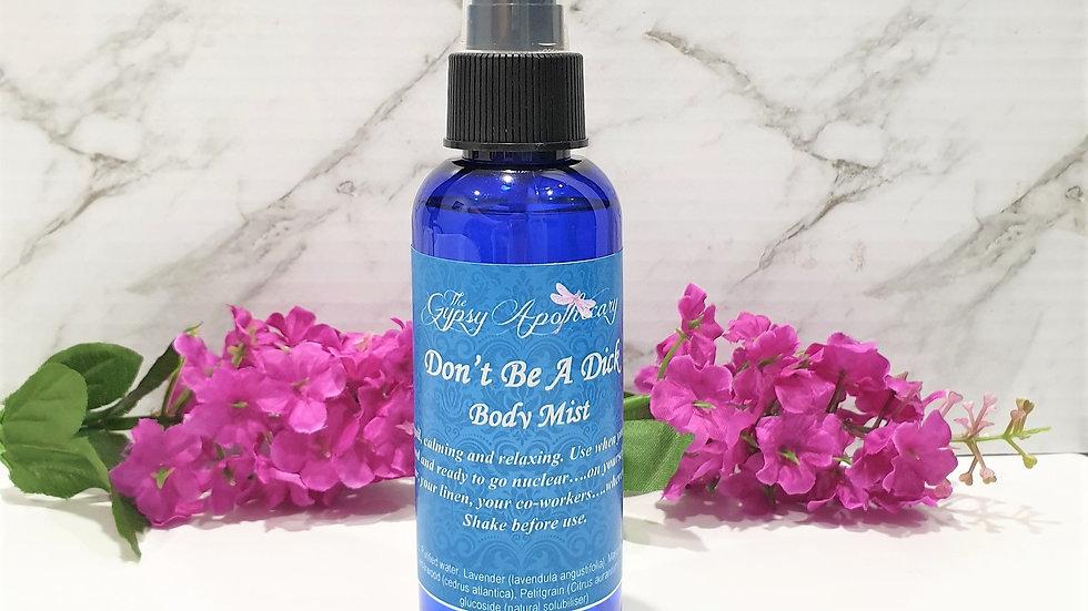 Natural aromatherapy essential oil body spray mist for relaxation Brisbane Australia