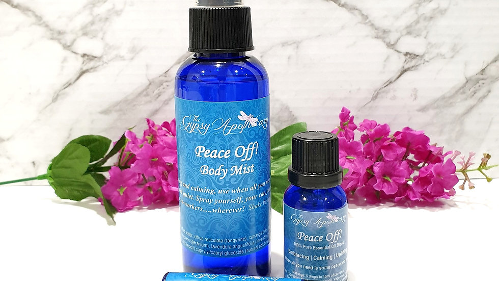 Peace Off aromatherapy natural calming products Brisbane Australia