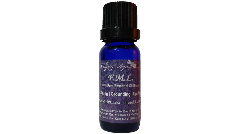 FML FMyLife Fuck My Life Essential Oil Blend Calming Uplifting Calm The Fuck Down