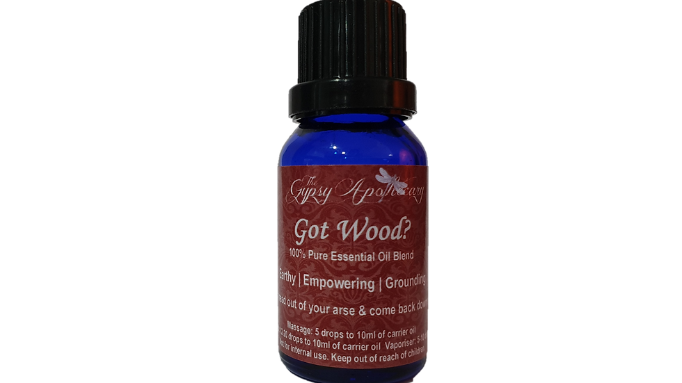 Aromatherapy essential oil blend for diffuser warm and earthy