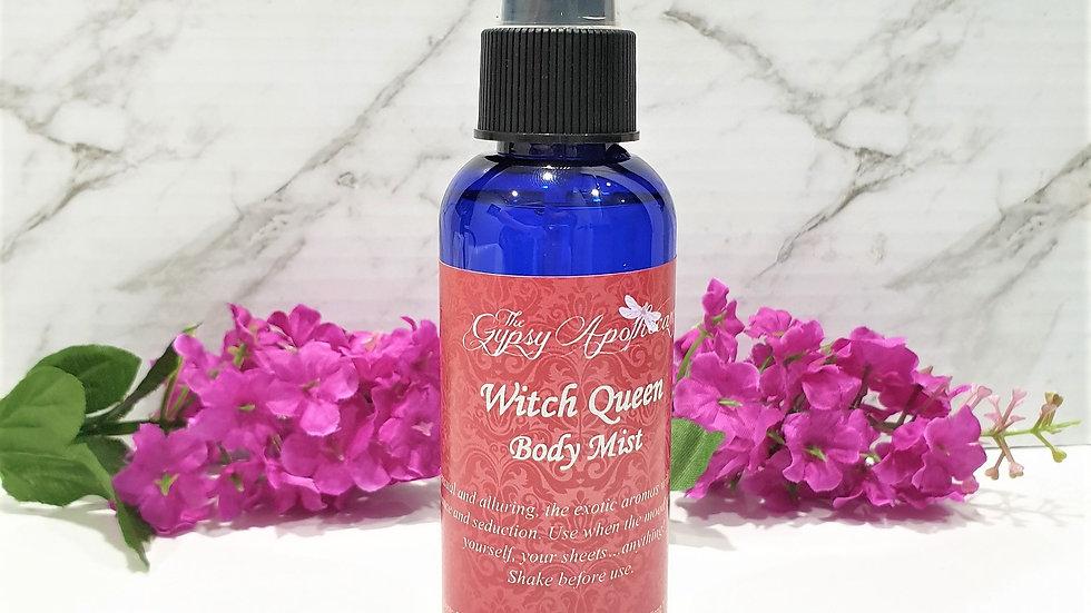 Witch Queen Aromatherapy natural essential oil body mist spray romance seduction love Brisbane Australia