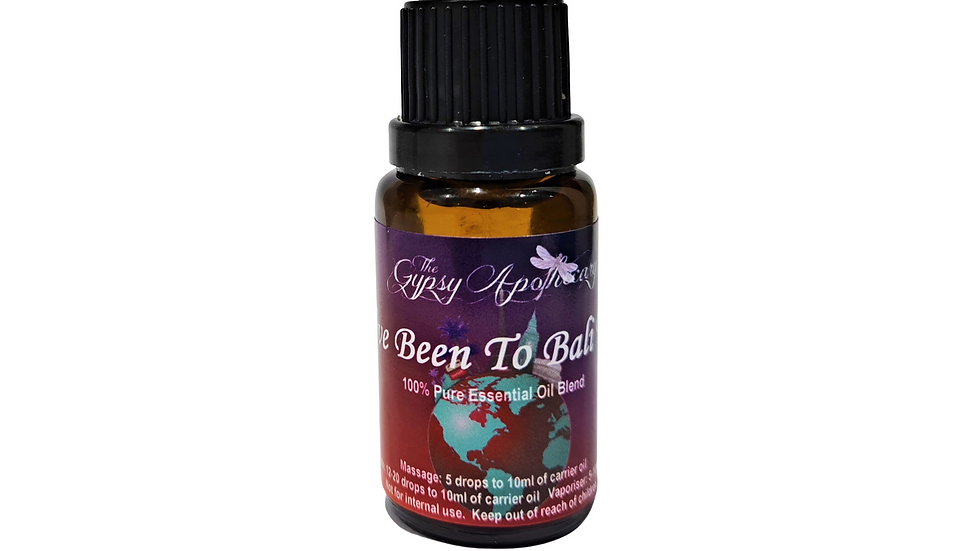 Bali Indonesia overseas holiday travel essential oil blend Brisbane Australia