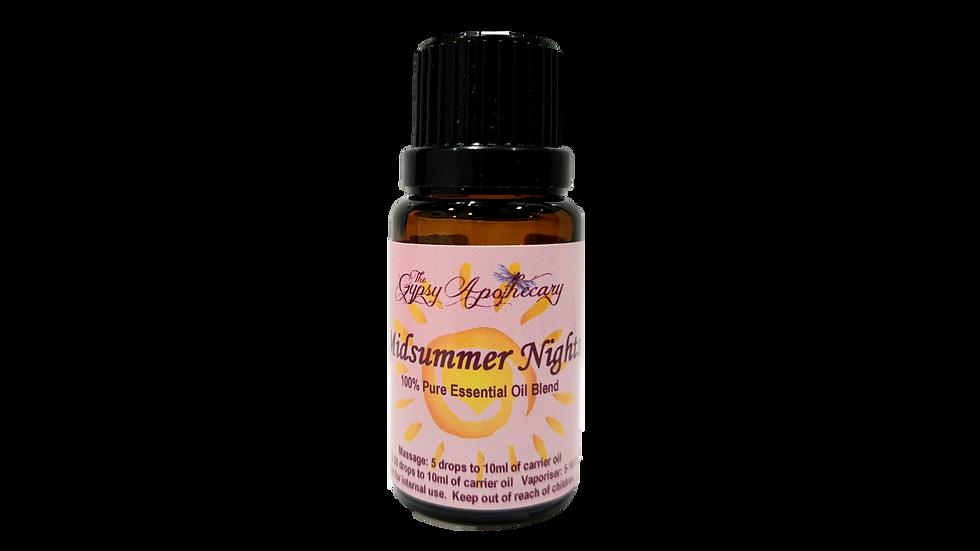 Midsummer Nights essential oil blend for summer uplifting floral jasmine Brisbane Australia
