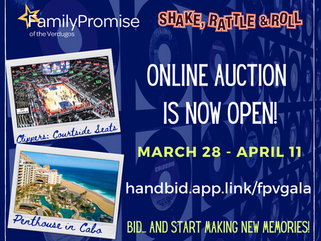 FPV Online Auction Now Open