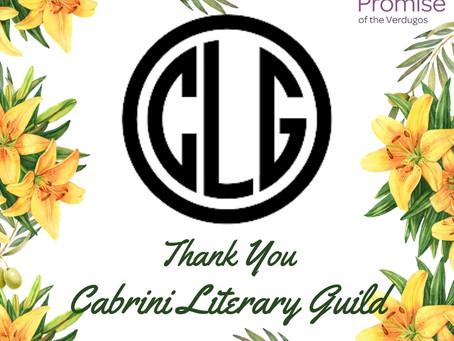 Cabrini Literary Guild Presents Funds