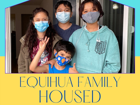 Equihua Family Secures Housing