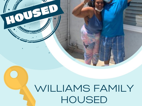 Williams Family Housed