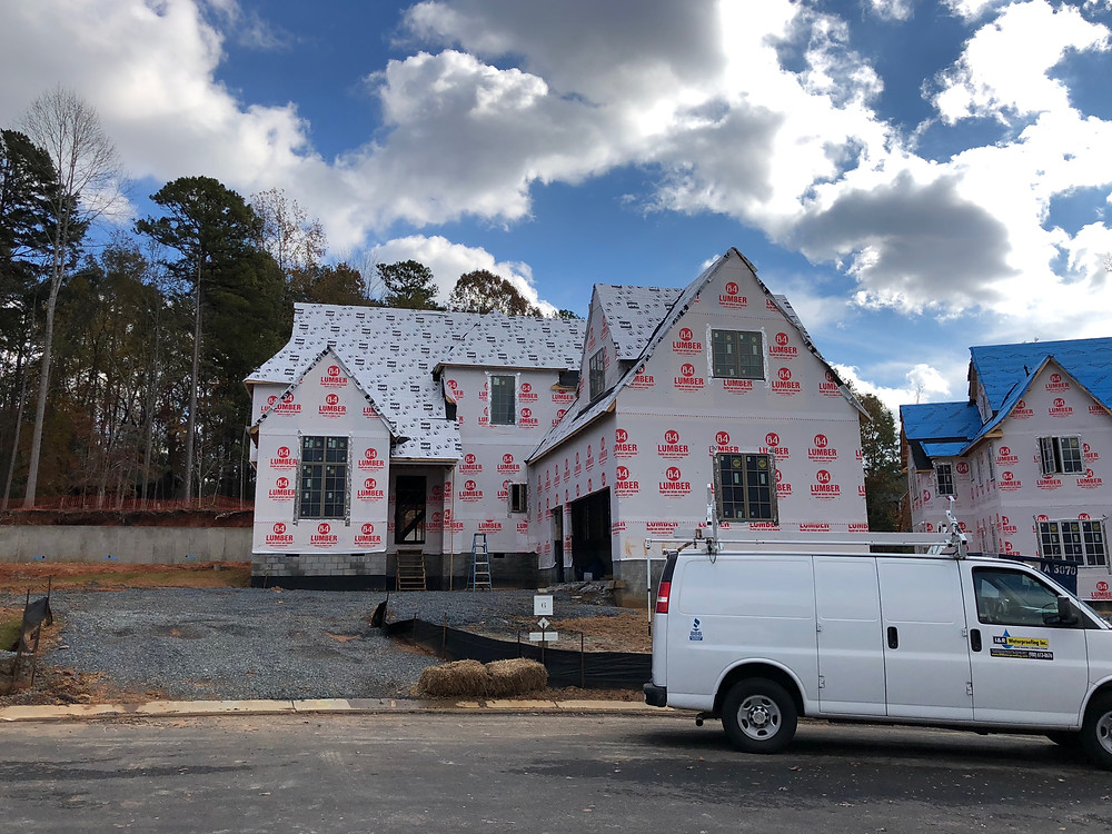 New Old Custom Home Builder Charlotte Southern Living Inspired Home