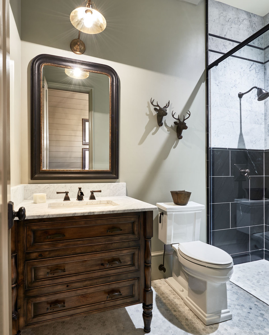Charlotte Custom Home Bathroom