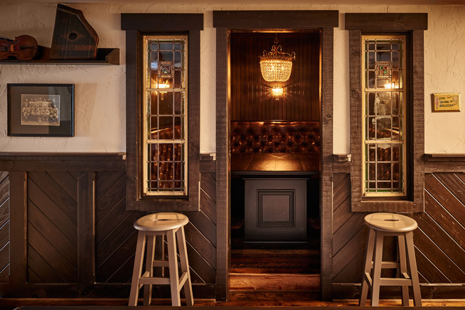 Charlotte Custom Home Basement Bar