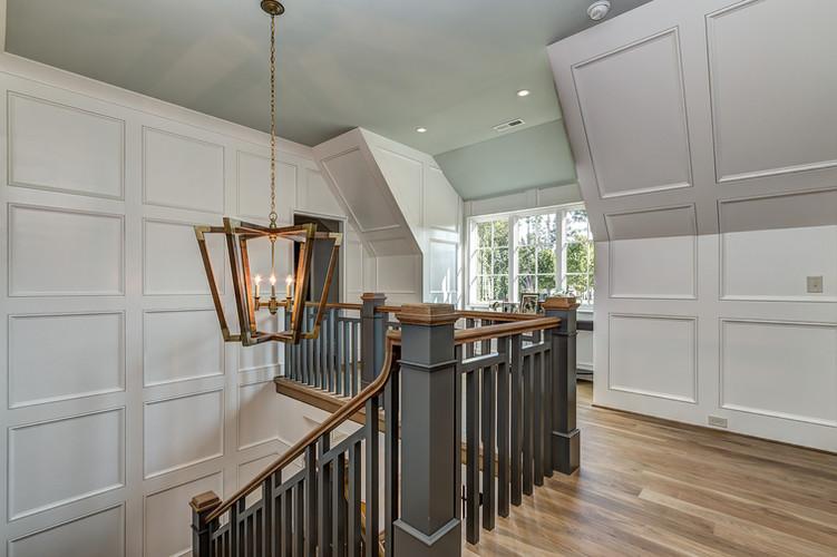 Charlotte Custom Home Staircase