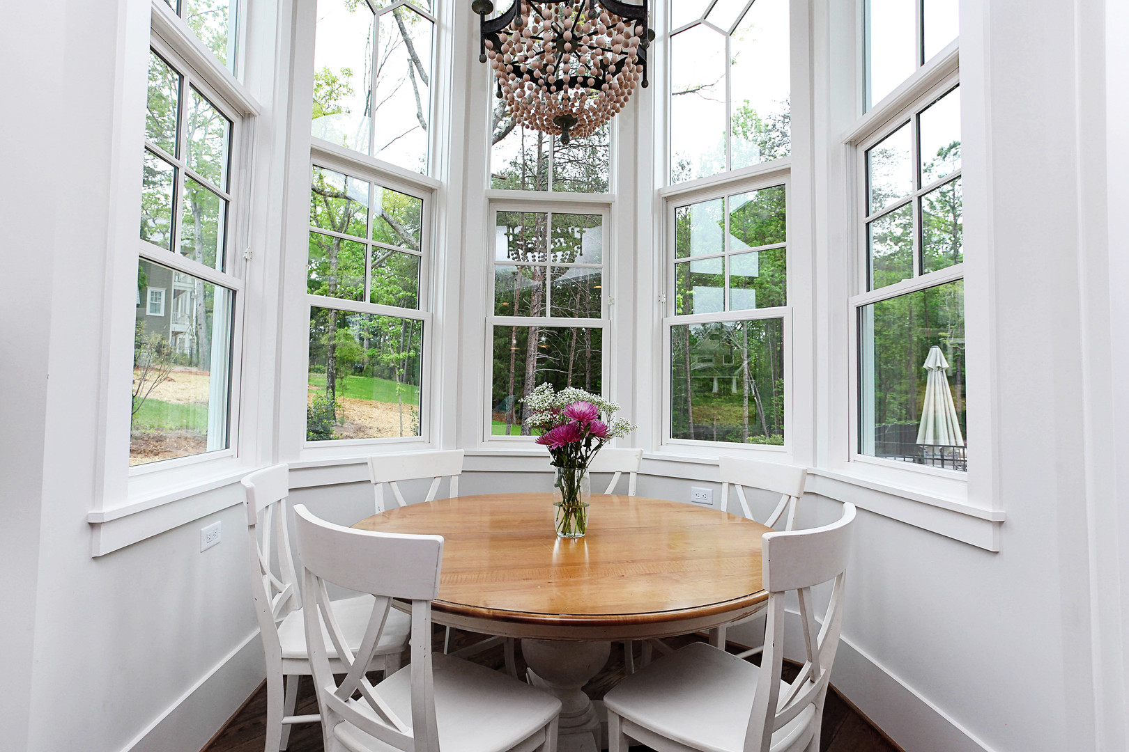 Charlotte Custom Home Kitchen Table