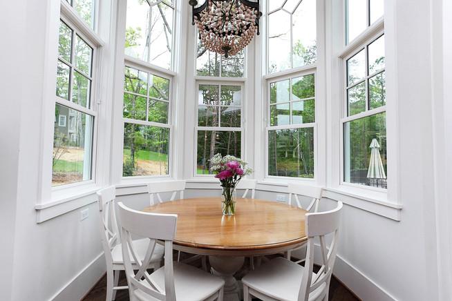 Charlotte Custom Home Kitchen Table