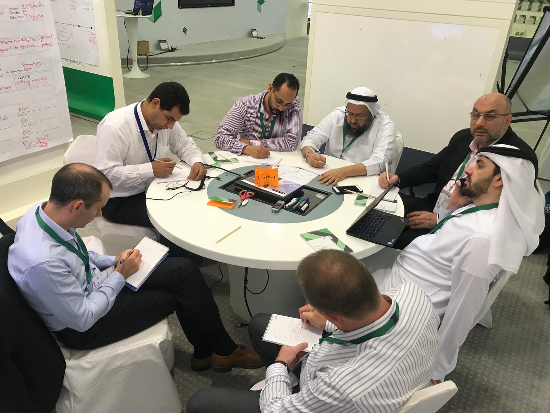 Design Thinking workshop at RTA
