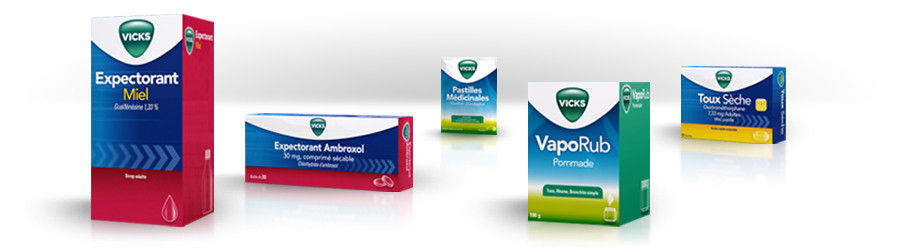 Vicks new packaging system