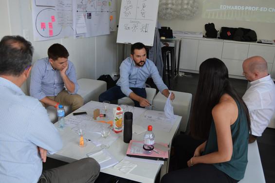 Edwards Lifesciences Design Thinking workshop