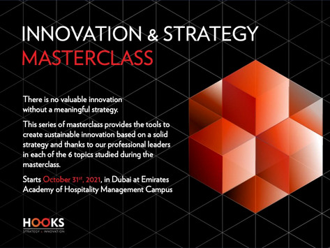 Register to our 6 Masterclass on Strategy & Innovation