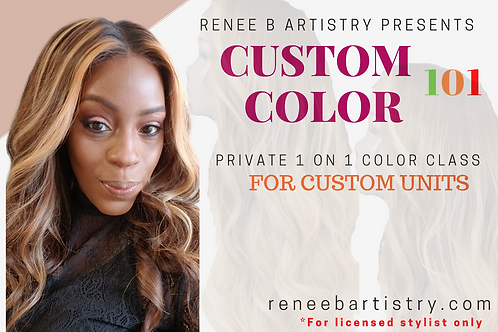 Custom Color 101 Deposit