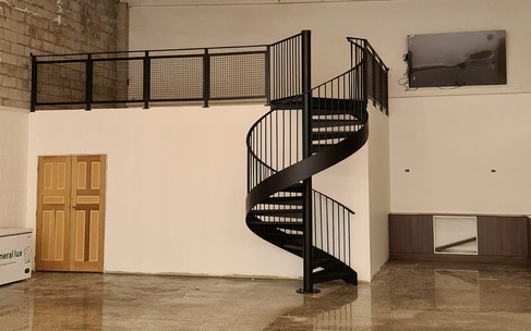 Industrial Spiral Stairs 2
