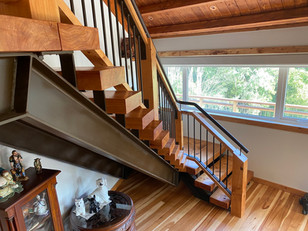 Wright Road Contemporary Staircase 9
