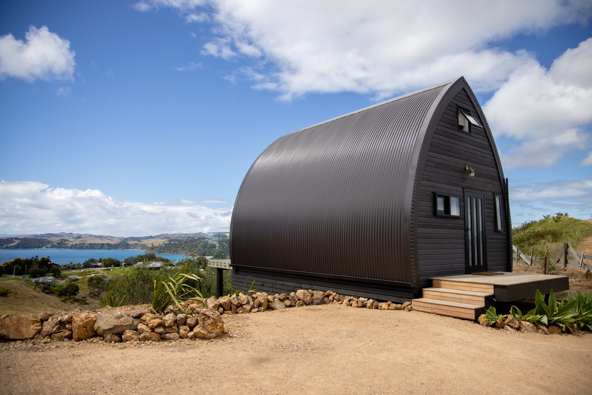 Tiny house living in New Zealand