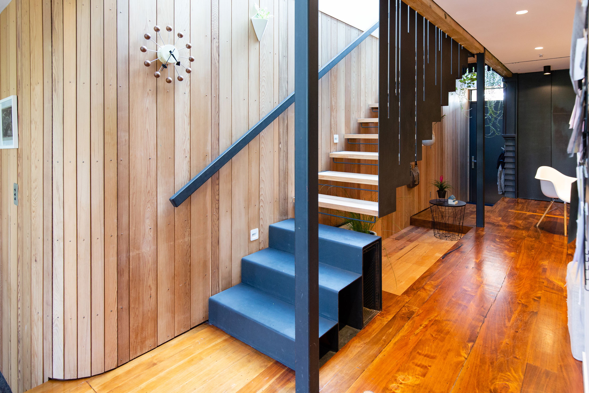 Staircase design consultancy Stairworks designed and built this floating staircase in Auckland
