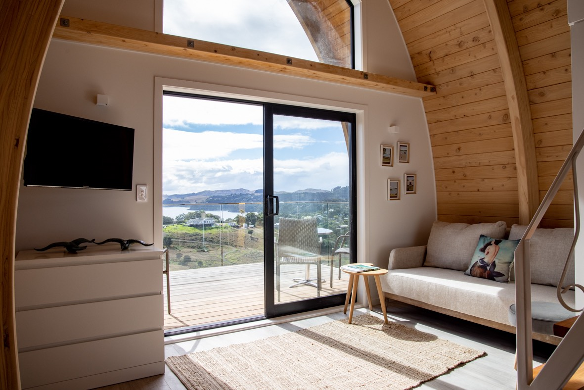 Space saving stairs in tiny home by Stairworks in NZ