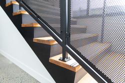 Wood stairs designed by Stairworks in Auckland to pass consent and building code