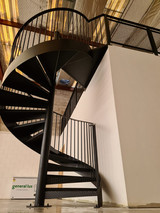 Industrial Spiral Stairs 6