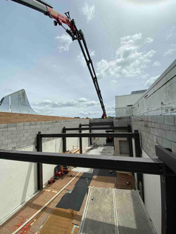 Structural steel for building renovation in Auckland