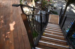 Outdoor stairs in Auckland built by Stairworks