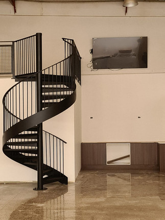 Industrial Spiral Stairs 1
