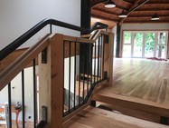 Wright Road Contemporary Staircase 1