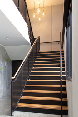 Stairworks builds and manufactures both steel staircases and wooden staircases