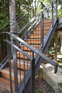 Exterior staircase renovation in Auckland by Stairworks