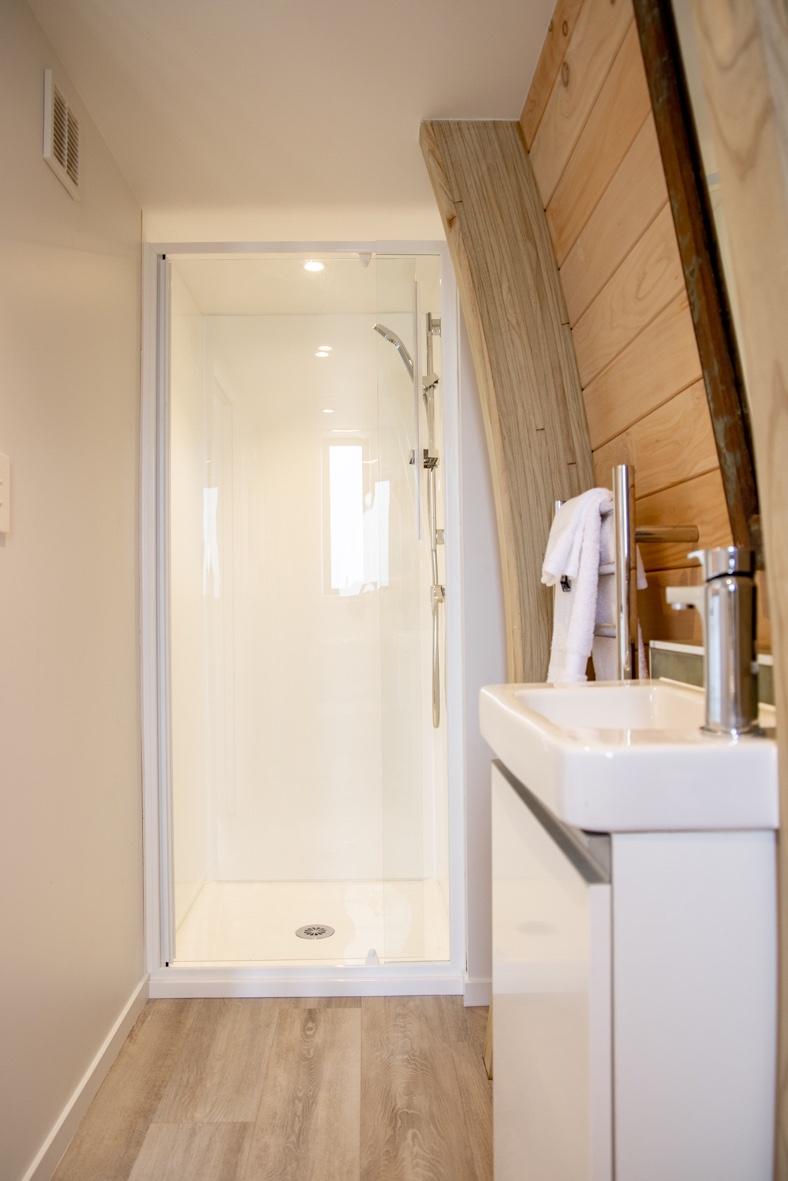 Tiny bathroom on Waiheke Island