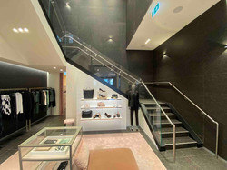 Solid style commercial staircase in Auckland