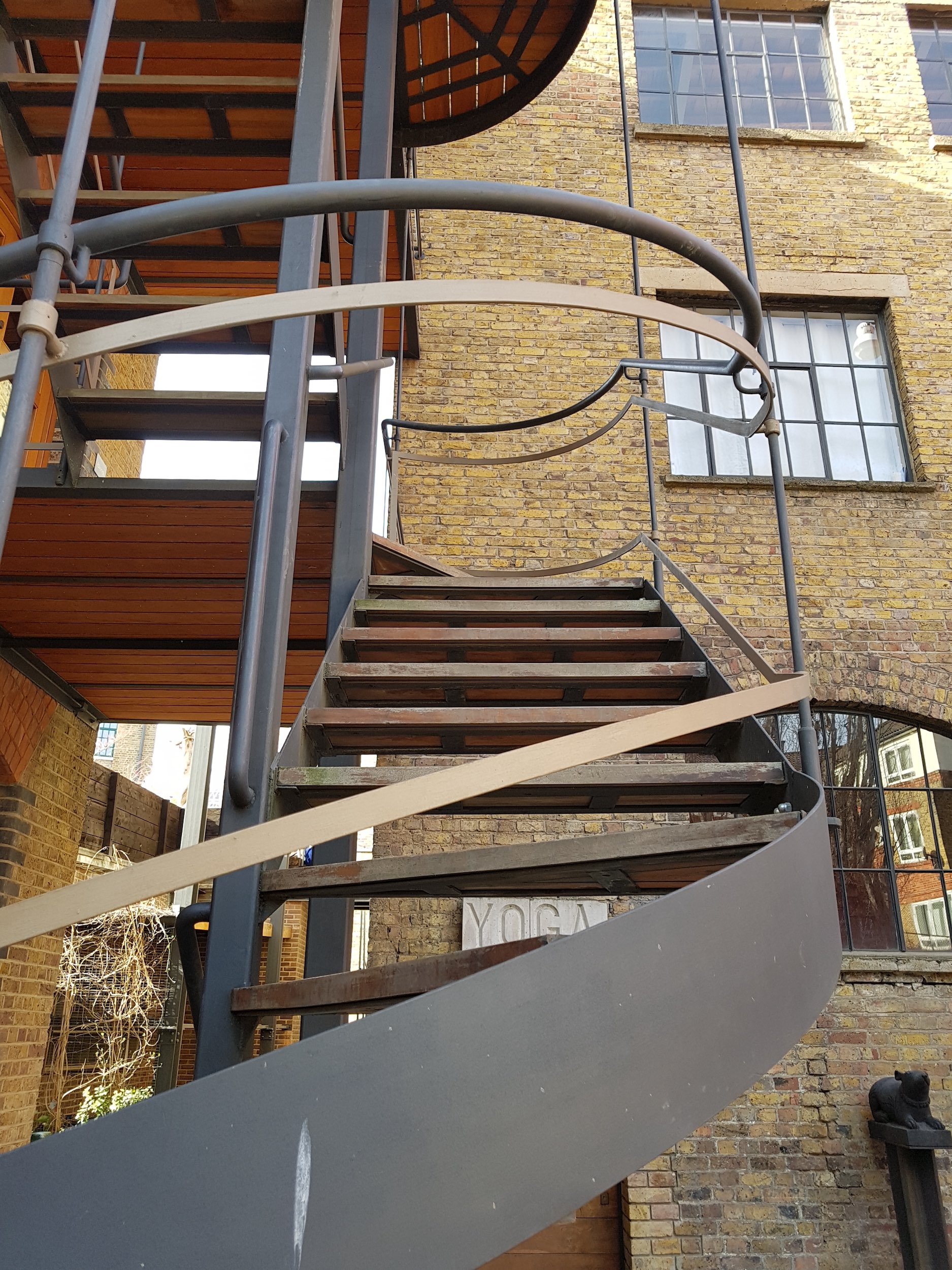 Architectural design of spiral staircase by Stairworks in Auckland