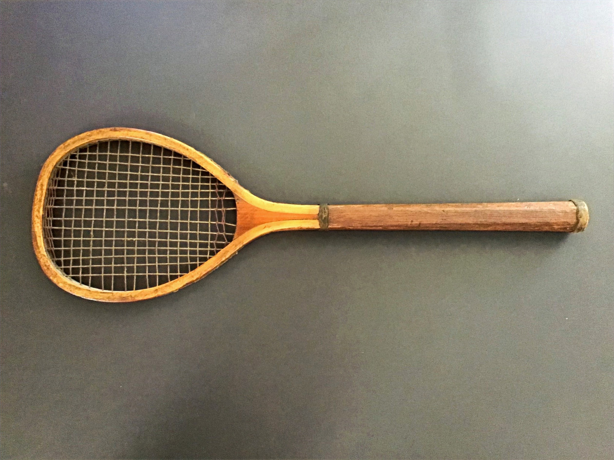 Rare Boxed Set Racquet - 1879